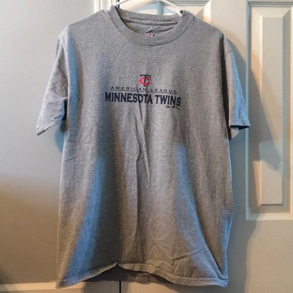 Majestic Other - Minnesota Twins Gray T-shirt